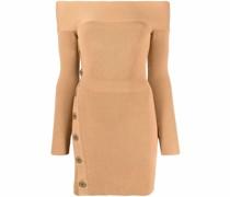 Minikleid aus geripptem Strick