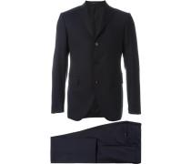Zweiteiliger Anzug - men - Schurwolle/Bemberg