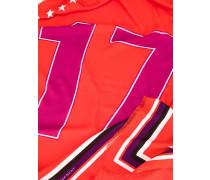 '17' Schal mit Print
