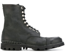 ridged sole boots