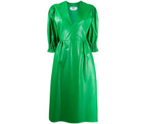 Kleid im Leder-Look