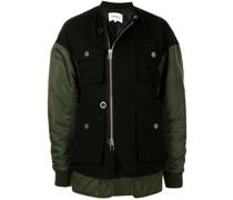 Military-Jacke mit Einsätzen