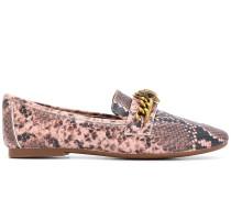 Loafer mit Schlangeneffekt