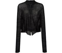 Bluse mit V-Ausschnitt - women - Hanf/Nylon - XL