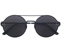 double bridge circle sunglasses