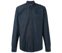 Chambray-Hemd mit Brusttasche - men - Baumwolle