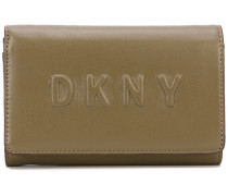 logo debossed wallet - women - Leder