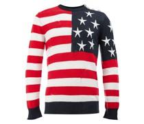 Pullover mit US-Flaggen-Motiv