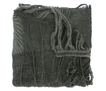 textured fringed scarf