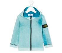 Sweatshirt mit Kapuze - kids - Baumwolle - 10 J.