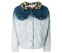 dip bleach denim jacket