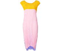 crinkled shift dress