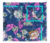 Schal mit Blumenmuster - men - Baumwolle