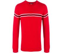 Orelle stripe detail crewneck sweater