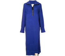 Oversized-Kleid mit Reißverschluss