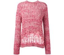 Pullover mit grobmaschigem Design