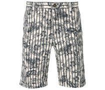 Shorts mit Paisleymuster