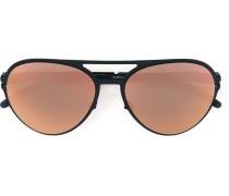 'Gustl' Sonnenbrille - unisex - Stahl