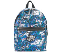 'Flying Tiger' Rucksack - men - Acryl/Polyester