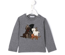 animals patch T-shirt