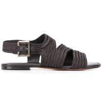 'Iris' Sandalen mit Flechtmuster