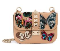 Garavani Glam Lock butterfly shoulder bag