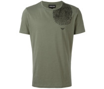 T-Shirt mit Fingerabdruck-Print - men