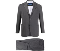 Schmaler Anzug in Cropped-Länge