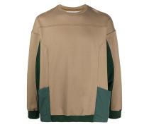Sweatshirt mit Kontrasttaschen