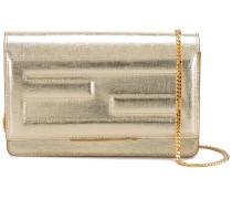 'Tube' Portemonnaie mit Ketten-Schulterriemen