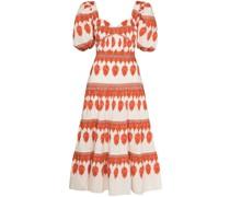 Culture Kleid mit Puffärmeln