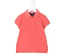 Poloshirt mit seitlichen Schlitzen