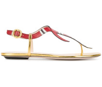 Sandalen mit Schlangen-Motiv - women - Leder