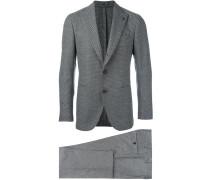Zweiteiliger Anzug mit Punkten