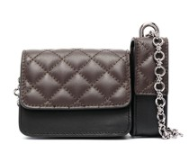 quilted mini bag