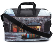 "Reisetasche mit ""Mini Kings Cross""-Print"