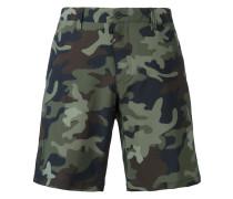 Bermudas mit Camouflage-Print - men