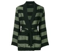 short striped robe