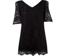 v-neck lace blouse
