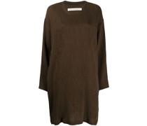 Sweatshirtkleid mit lockerem Schnitt