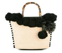 Handtasche mit Bommeln