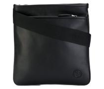 - logo messenger bag - men - Kalbsleder