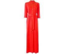 Langes Hemdkleid - women - Polyester/Viskose