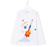 Langarmshirt mit Raketen-Print