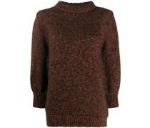 Pullover mit Cropped-Ärmeln