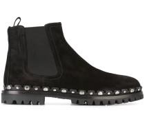 Chelsea-Boots mit Verzierung