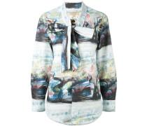 Hemd mit Print - women - Baumwolle/Elastan - 12