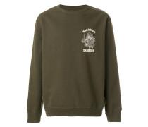 Sweatshirt mit Drachenstickerei