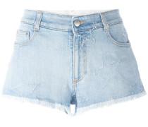 'Star' Shorts mit Fransen