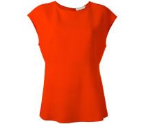 Bluse mit rundem Ausschnitt